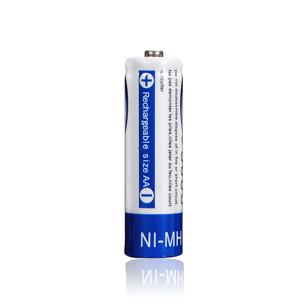4Pcs Superacids Capacity BTY3000 AA NIMH Rechargeable Battery