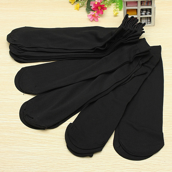 10 Pairs Man Short Bamboo Socks Stockings Middle Socks