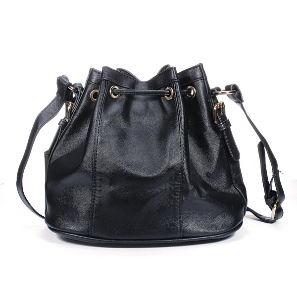Korean Style Bucket String Bag Women Shoulder Crossbody Bag Handbag