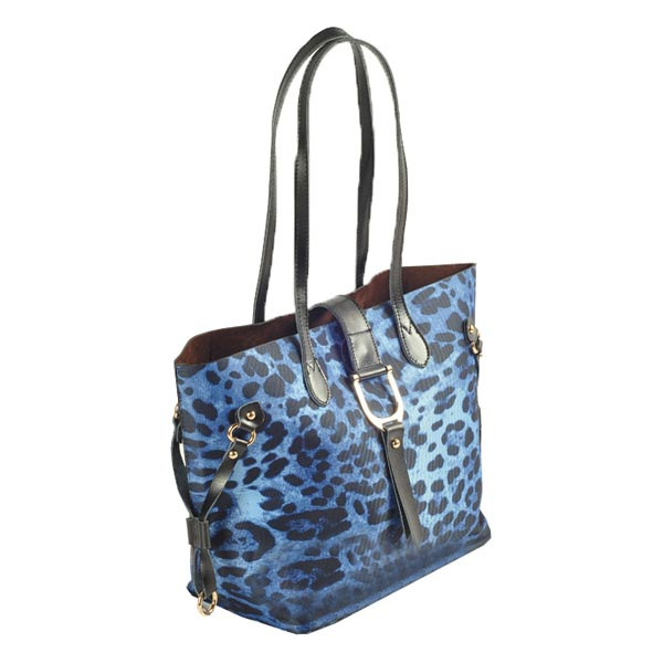 New Vintage Canvas Leopard Print Women Handbag Cross Body Bag