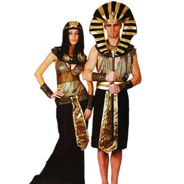 Halloween Costume Egyptian King Clothing Mens  Pharaoh Outfit