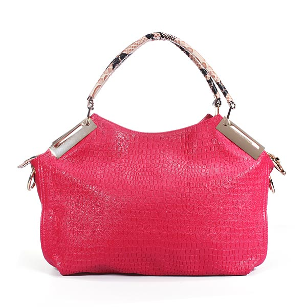 Fashion European Alligator Pattern PU Women Handbag Shoulder Bag