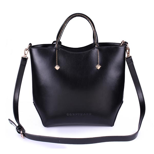 New High-quality Genuine Leather Big Retro Female Bag Handbag Shoulder Bag Diagonal Cross Pattern
