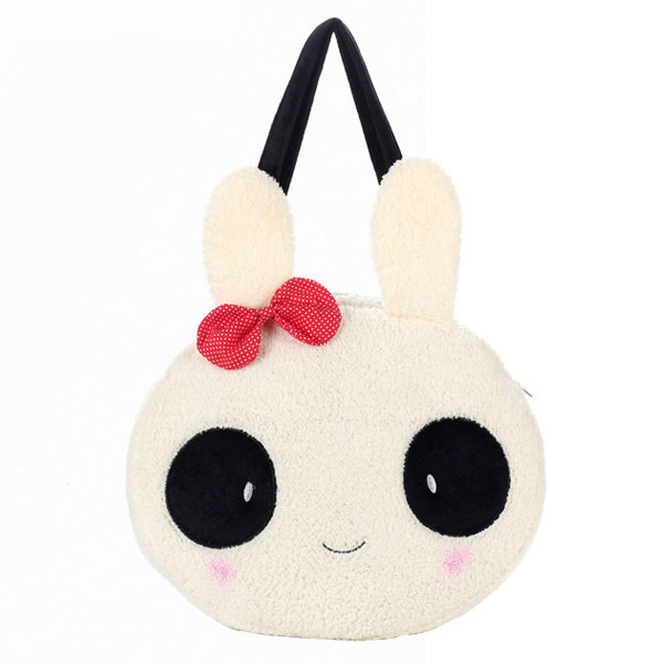 Girls Rabbit/Panda Plush Handbag Shoulder Bag