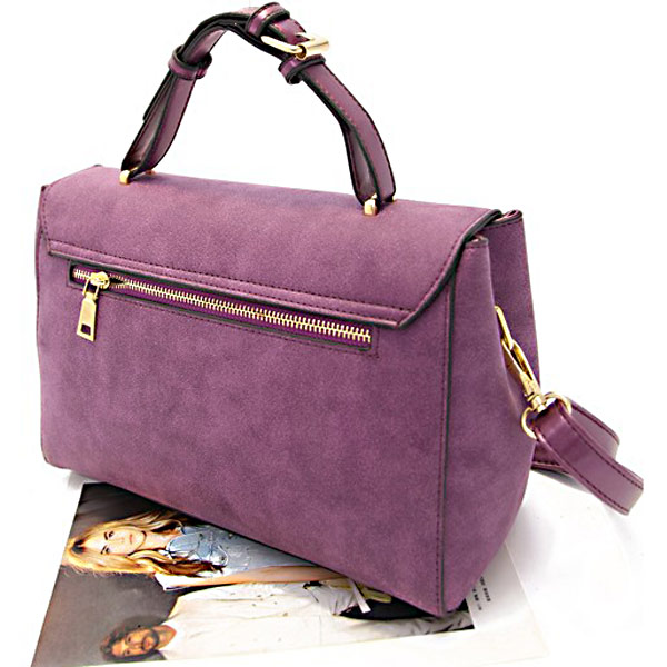 Fashion Retro Matte Handbag Stereotypes Shoulder Bag Women Handbag
