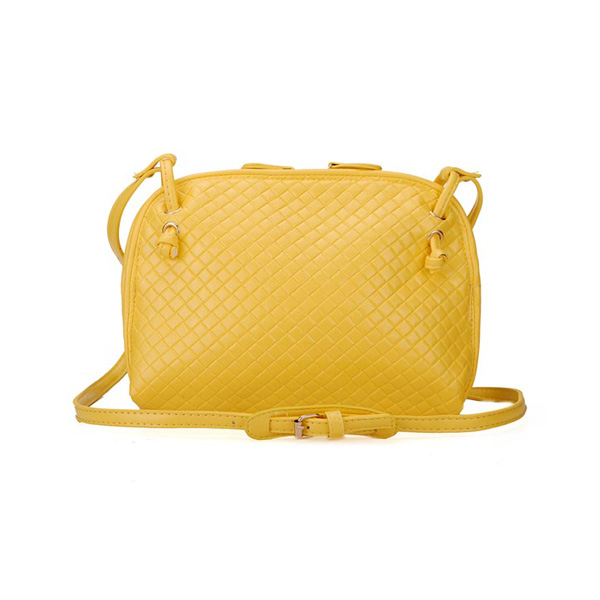 Korean Fashion Women Knitted Mini Bag Retro Cross Body Bag