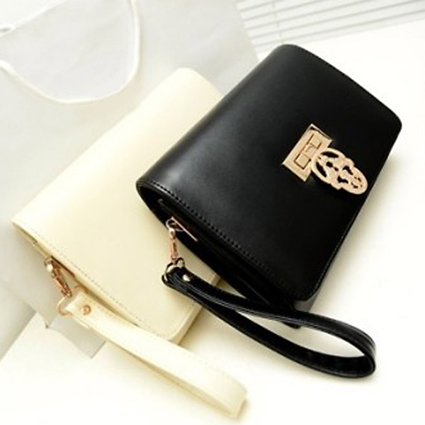 New Vintage Chain Skull Clutch High Quality Women Shoulder Bag Cross Body Bag