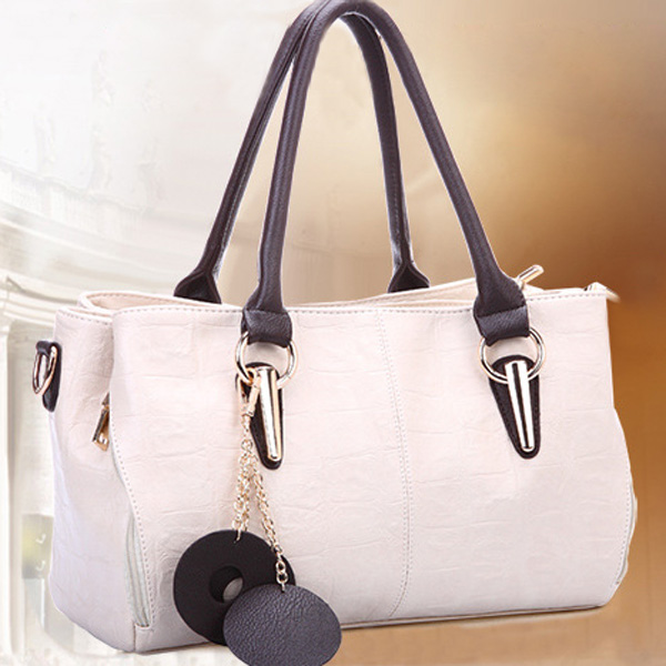 New Luxury Handbag Women Fashion Stone Pattern Lady Shoulder Bag