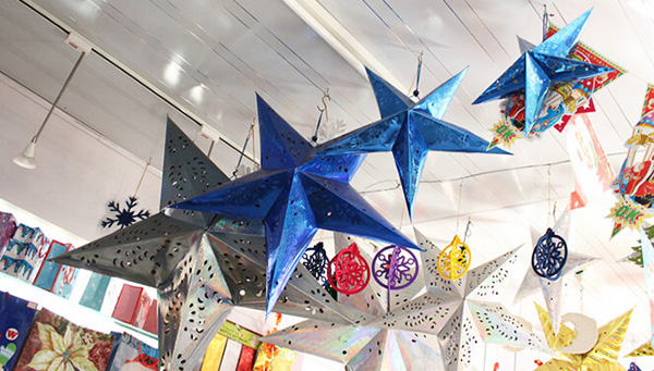 pentagram ceiling ornaments