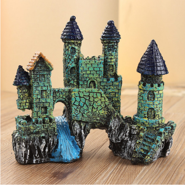 Castle Landscaping Aquarium Decoration