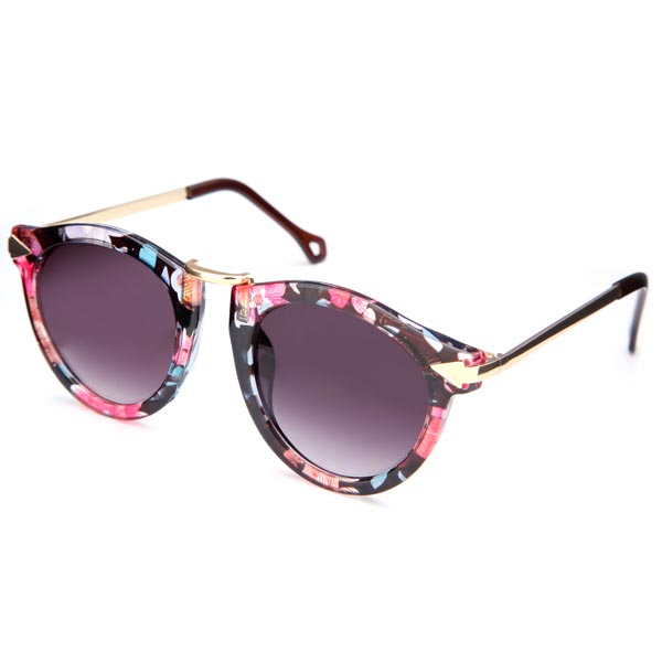 цены Hot New Arrival Vintage Multicolor Unisex Sunglasses