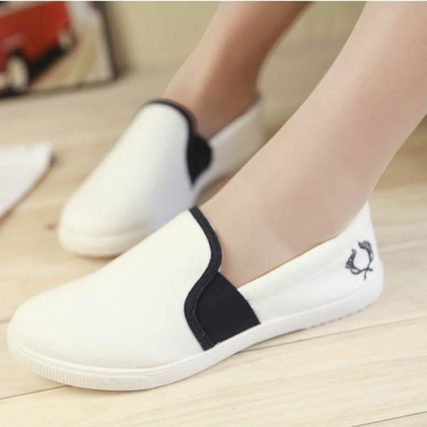 Casual Flat Soft Cavans Shoes