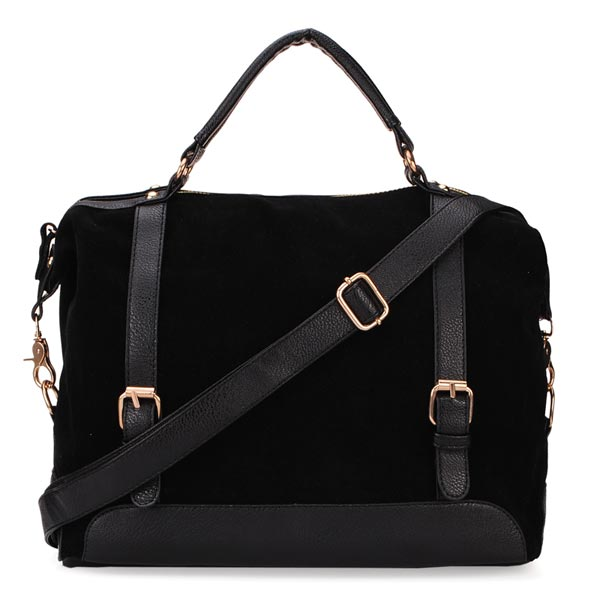 Nubuck Leather Women Handbag All-match Fashion Vintage Shoulder Bag Messenger Bag