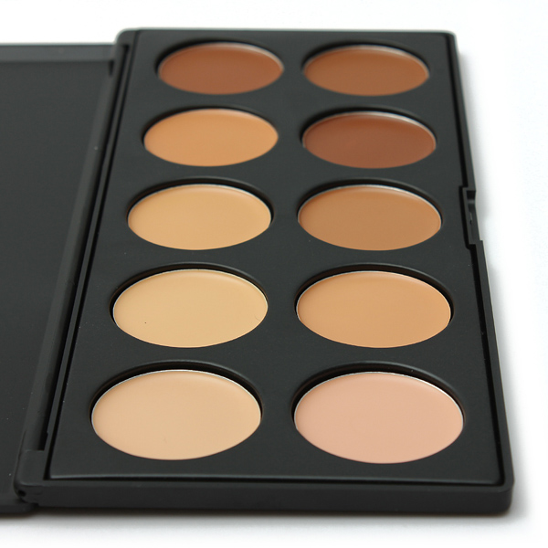 10 Colors Eye Face Concealer Camouflage Makeup Palette Set