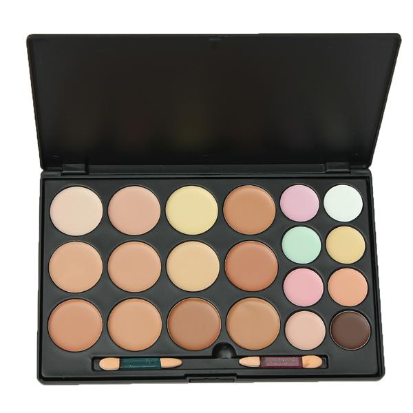 20 Color Concealer Camouflage Makeup Palette Face Cosmetic Set