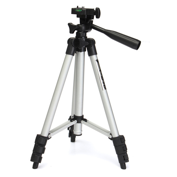 FT-810 Portable Aluminum Telescopic Tripod Stand Holder With Bag