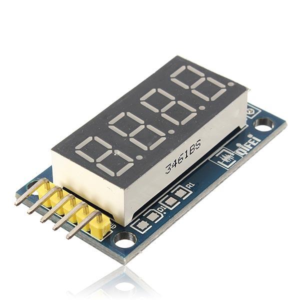 2Pcs 4 Bits Digital Tube LED Display Module Board With Clock (Eachine1) Irving товары вещи