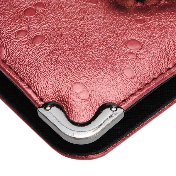 Women Diamond Scorpion Long Wallet Clutch Bag
