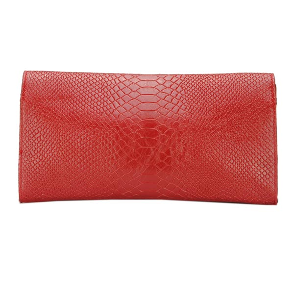 Fashion Women Snake Pattern Clutch Bag Shoulder Cross Body Bag