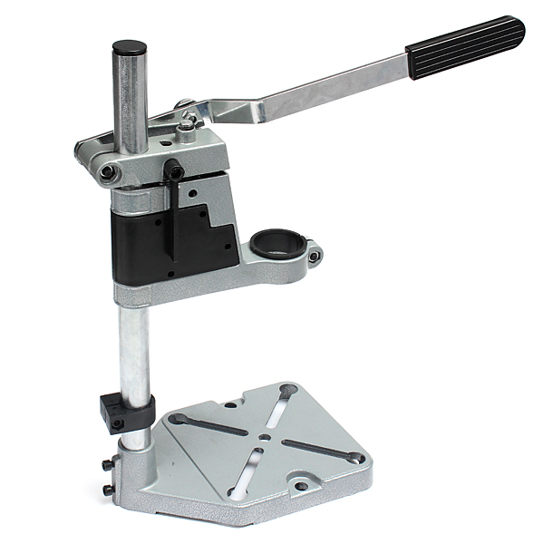 Bench Drill Stand/Press For Electric Drill With 35-43mm Collet kobelco sk200 5 6 rotary motor clutch brake friction plate paper