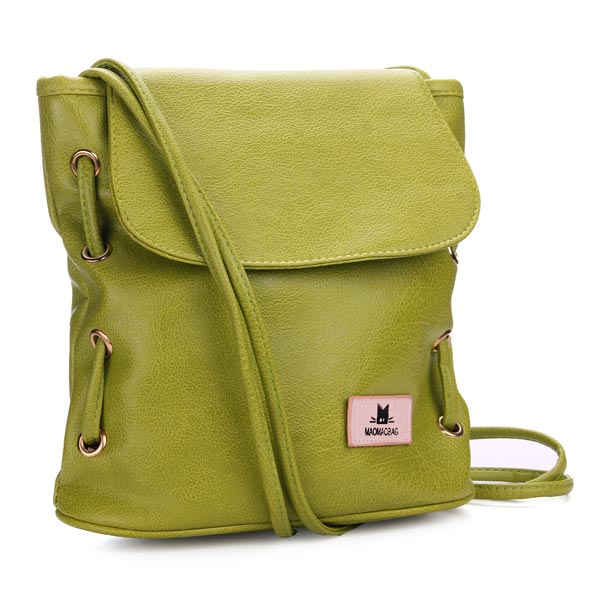 Fashion Vintage Candy Color Bucket Bag Shoulder Cross Body Bag