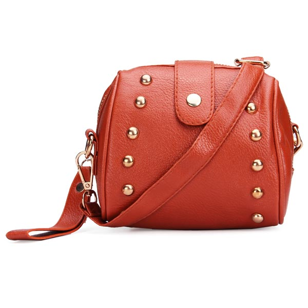 Fashion Women Small Camera Bag Rivets Shoulder Bag Cross Body Bag