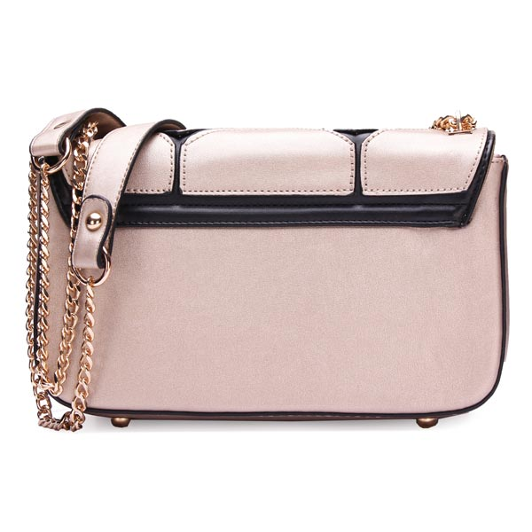 Fashion Women Patchwork Shoulder Bag Chain Cross Body Bag