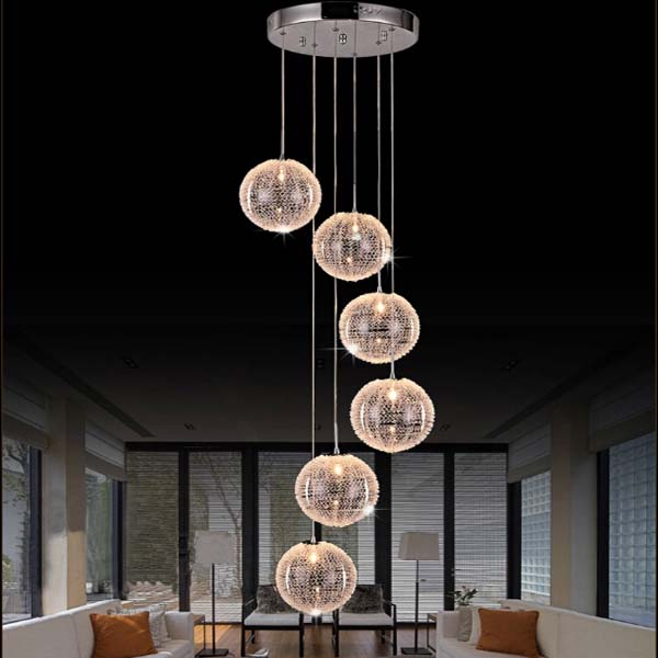 Staircase Lights, Staircase Pendant Lights, Rotation Staircase Pendant  Lights , Rotation Staircase Pendant Lights