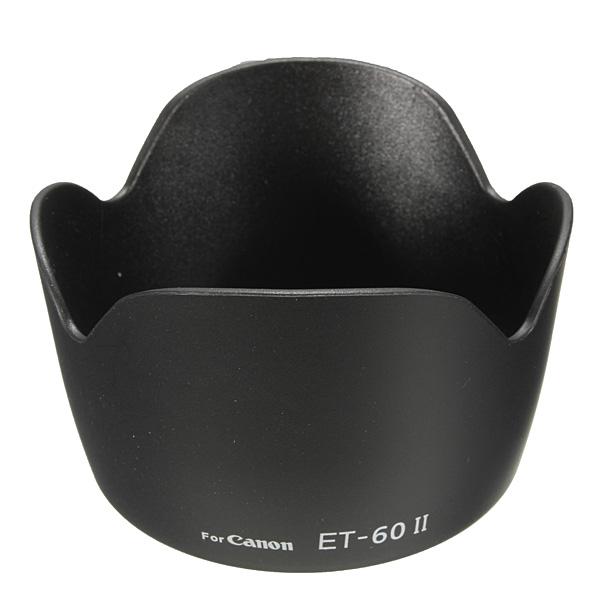 ET-60 II Lens Hood For Canon EF75-300MM F/EF-S 55-250MM F/4-5.6 IS