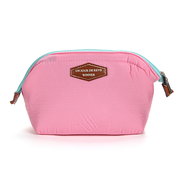Women Toiletry Cosmetic Travel Wash Pouch Bag Clutch Purse Case