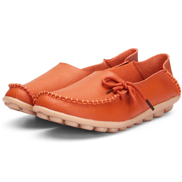 Leather Soft Bottom Shoes