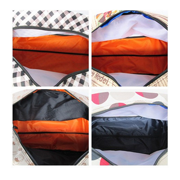 Oxford Waterproof Cloth Lever Pull Rod Traveling Bags