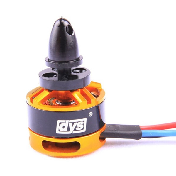 DYS BE1806 1806 2300KV Brushless Motor 2-3S for Mini Multicopters 1 pcs power hd servos bls 0804hv high voltage digital brushless motor titanium steel