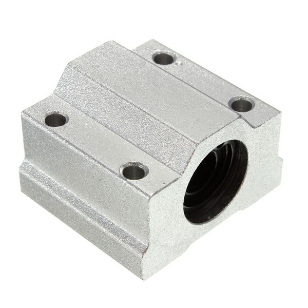 SC8UU 8mm Aluminum Linear Motion Ball Bearing Slide Bushing For CNC scv25uu slide linear bearings aluminum box type cylinder axis scv25 linear motion ball silide units cnc parts high quality