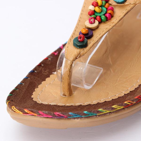 Агатовые Алмазные бисер сандалии