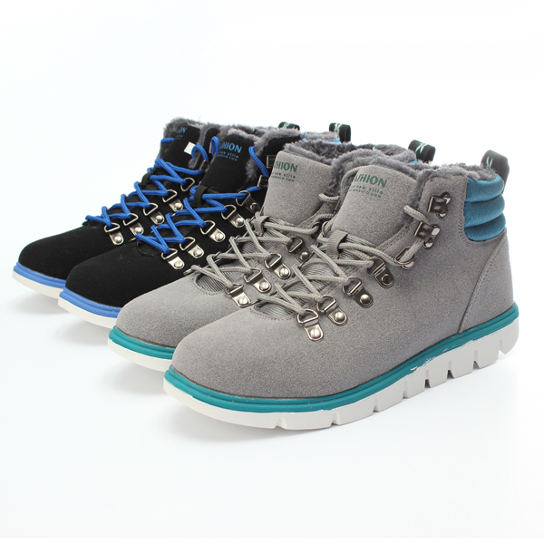 Winter Men's Casual Nubuck Shoes High Top Comfy Ankle Suede Boot