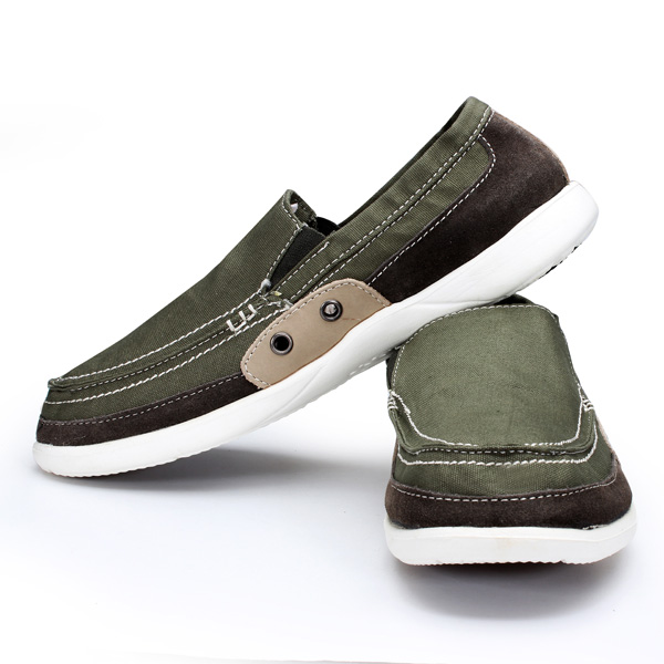 Men's Lazy Washed Canvas Casual Shoes