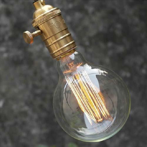 Buy G80 Led Filament E27 40w Bulb Online: E27 40W G80 Ampul Filament Edison Incandescence Retro Lamp