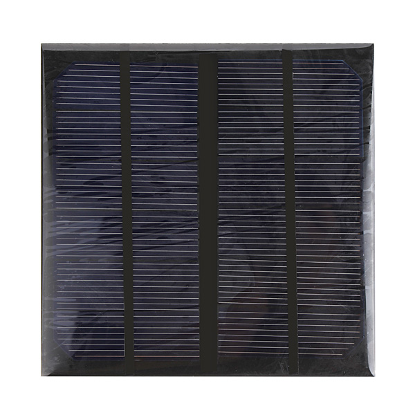 3W 6V Epoxy Solar Panel Solar Cell Panel DIY Solar Charger Panel 40 pcs poly 6x6 4 3w solar cells diy kit for solar panel flux pen diode bus tabbing regulator