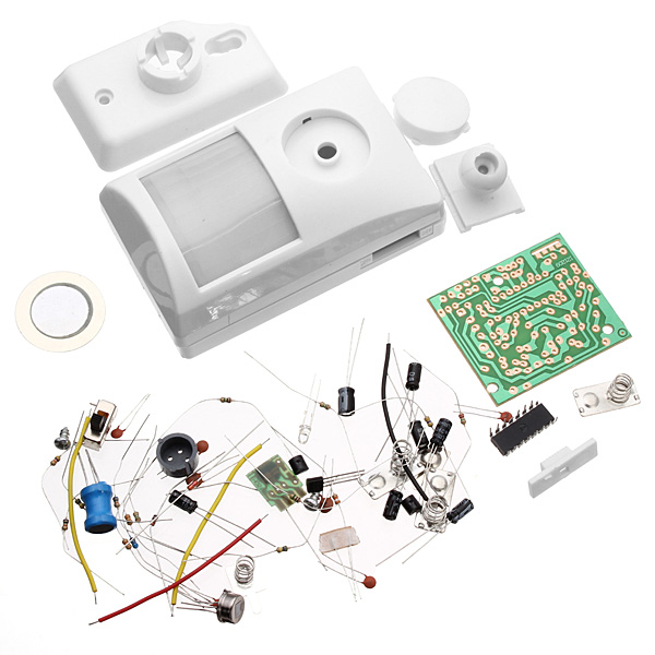 Infrared Electronic Alarm Kit Electronic DIY Learning Kit