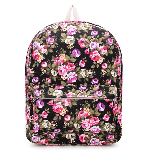 Cute Flower Floral Bag Vintage Schoolbag Bookbag Backpack – Loluxe