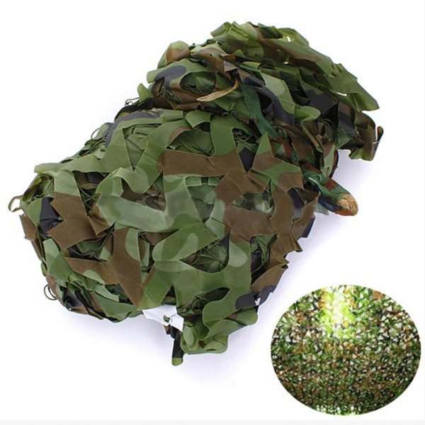 3X1.5m Woodland Camouflage Camo Net For Camping Military Photography