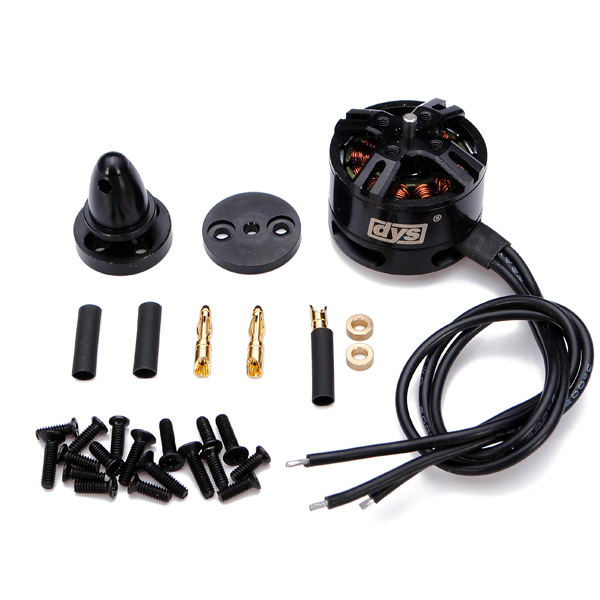 DYS BE1806 2300KV Brushless Motor Black Edition for Multicopters 4pcs dx2205 2300kv brushless motor