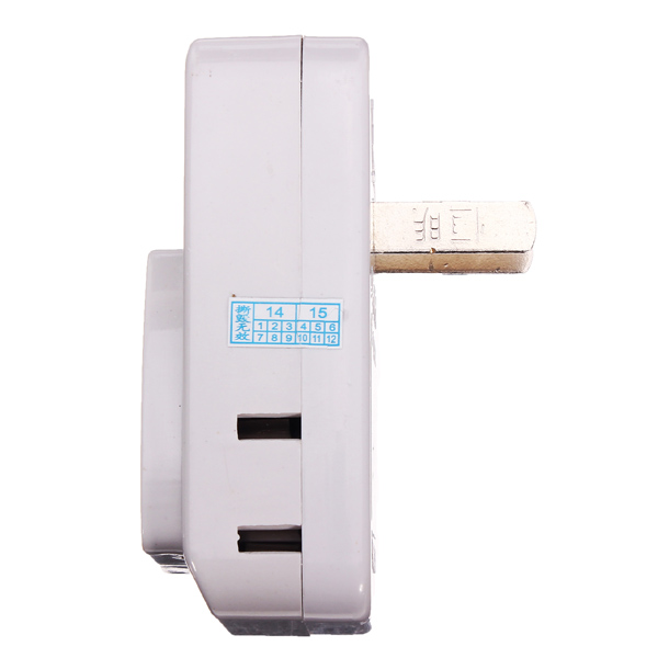 Wireless Remote Control AC 220V Power Socket Outlet Switch Plug