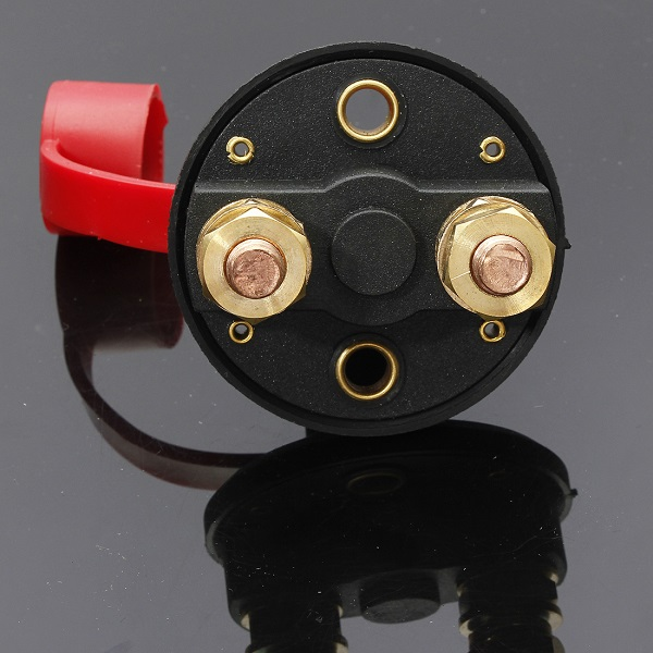 Car Battery Isolator Cut Off Power Kill Switch with Waterproof Cover