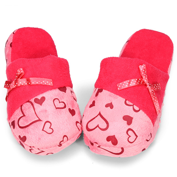 Sweet Heart Love Cartoon Butterfly Slippers