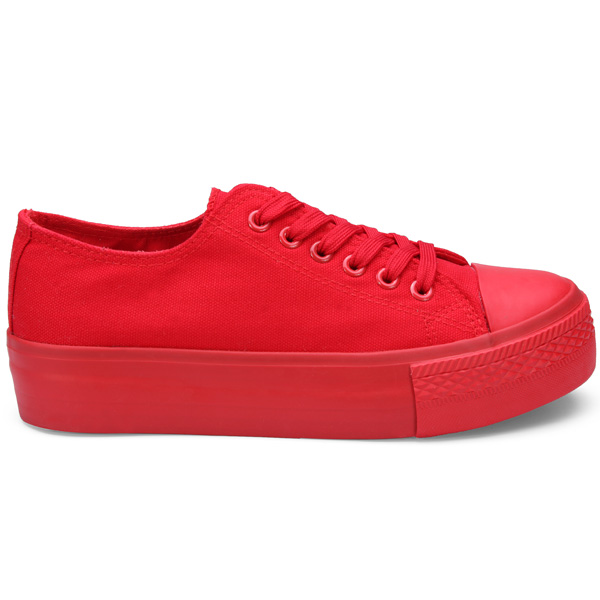 Leisure  Flat Thick Canvas Shoes