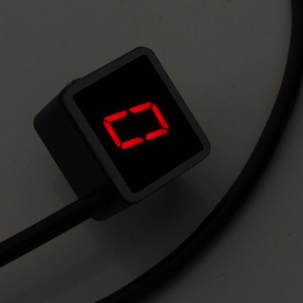 Universal Motorcycle LED Display Digital Indicator Shift Level Sensor