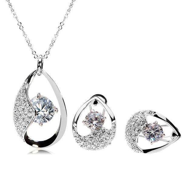 Austrian Crsytal Jewelry Set
