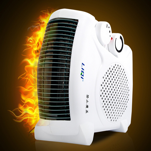 AC 220V 1200-2000W White Portable Electric Cooler & Heater Fan